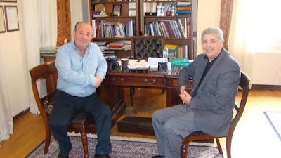 Συνάντηση του Δήμαρχου Πρέβεζας με το Διευθυντή του ΕΚΑΒ της 7ης Περιφέρειας