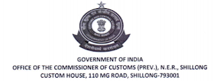Commissioner of Customs, Shillong Group-C Seaman Old Question Paper- Notification 2017