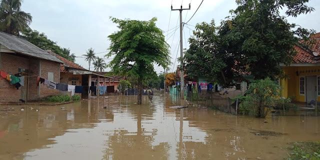 Sungai Cibeet Meluap, Karangligar Kembali Terendam Banjir