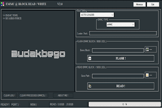 EMMC Block Read Write Tool V2.0 Full Version