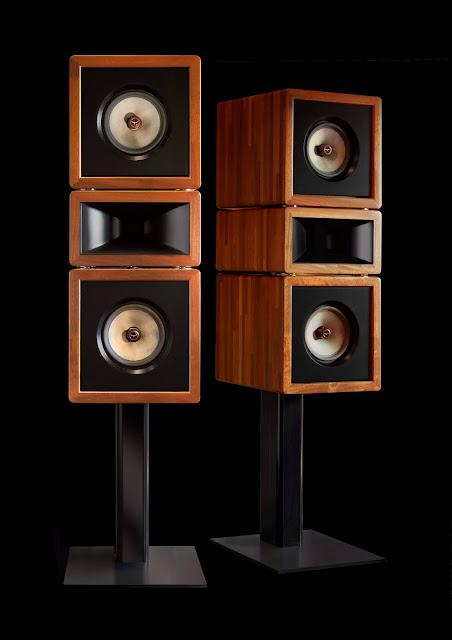 Klinger Favre Enceintes Speakers Studio20 Acajou Mahogany artisanat madeinfrance