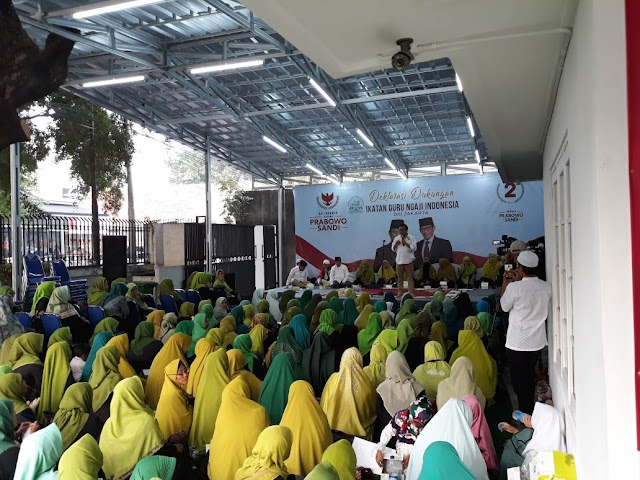 Pilpres 2019, Kubu Prabowo-Sandi Ajak Emak-emak Jaga TPS