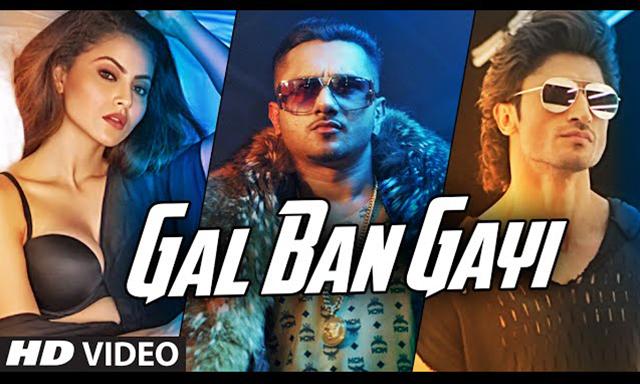 Honey SinghSong 'GAL BAN GAYI I urvashi rautela, neha kakkar