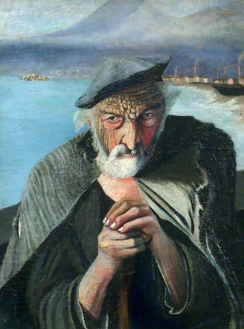 O velho pescador, pintura de Tivadar Kosztka Csontváry - Diz-se que: Colocando um espelho no centro da pintura, a imagem refletida é: a de Deus, se o ombro direito do velho é refletido e do diabo, se for o esquerdo. Tal peculiaridade só foi descoberta após a morte do artista.