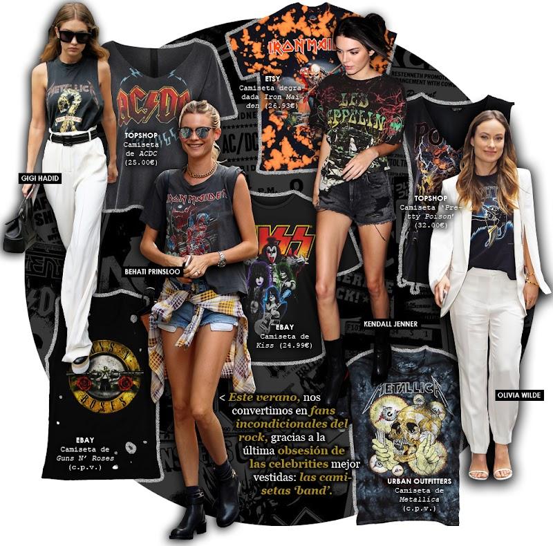 Las camisetas 'rockeras' que incorporarás en tus looks