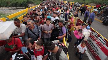 Emigrar desde Venezuela a Colombia