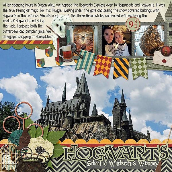 Harry Potter - Universal Studios Scrapbook
