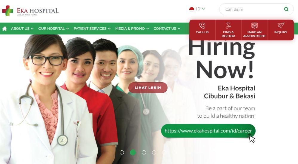 Lowongan Kerja Rs Ekahospital Bekasi Tahun 2019 Lowongan Kerja Terbaru Tahun 2020 Informasi Rekrutmen Cpns Pppk 2020