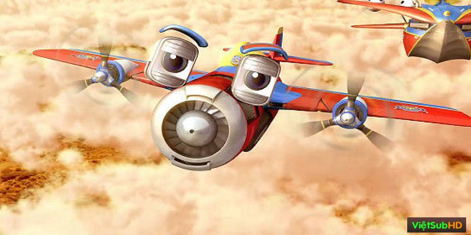 Phim Những Anh Hùng Trên Không VietSub HD | Wings: Sky Force Heroes 2014