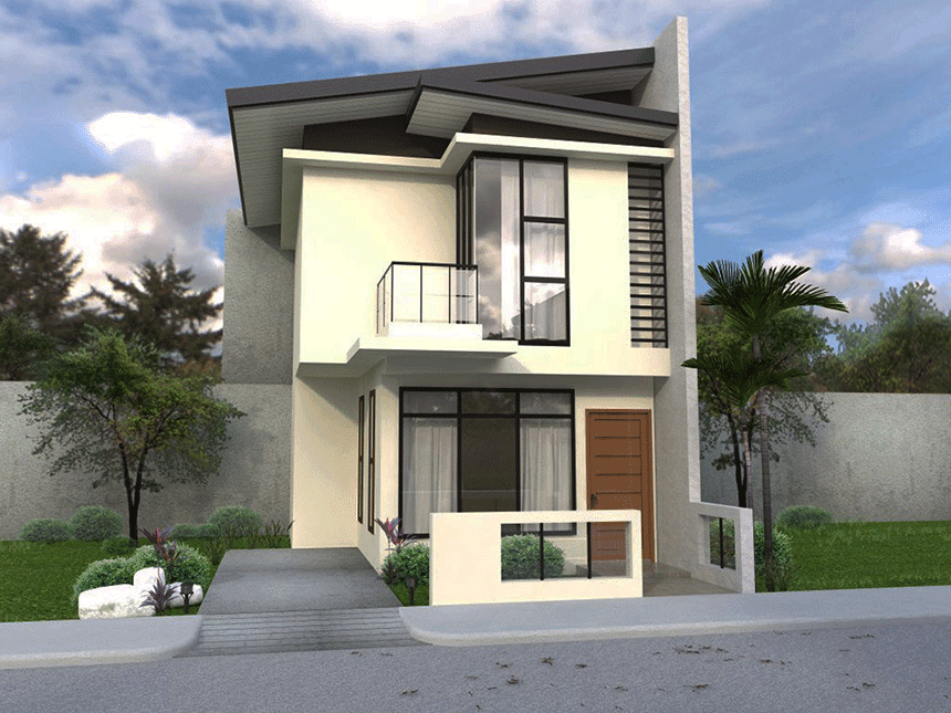Two Story House Is One Of Our Dream House, Hoping To Have Someday. But