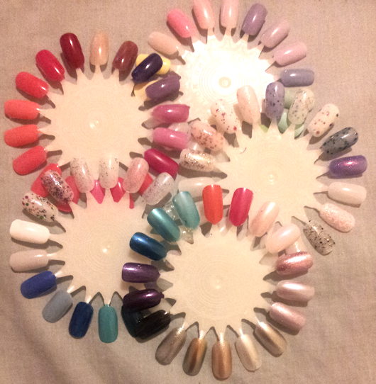 RAMBLES; How many nail polishes is too many?