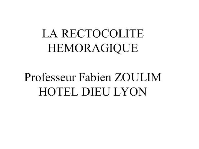 LA RECTOCOLITE HEMORAGIQUE .pdf