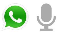 Messaggi vocali Whatsapp, note audio e dettati a voce