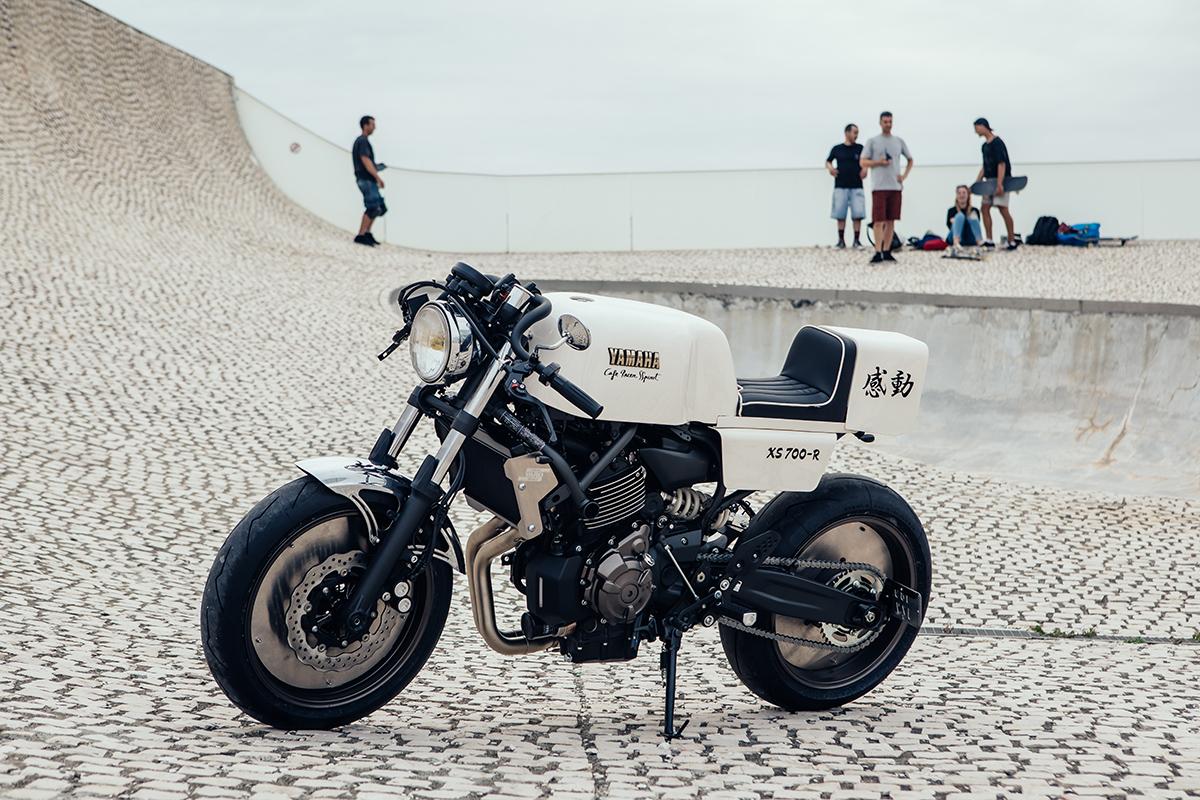 Caferacer Yamaha Xsr700 12