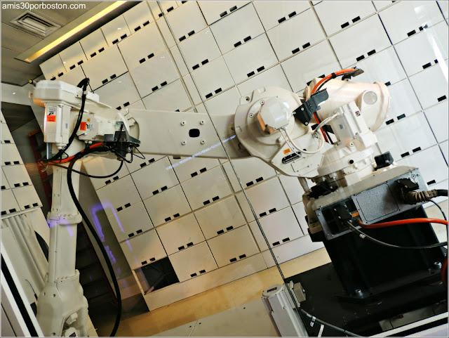 Robot del Hotel Yotel en Nueva York