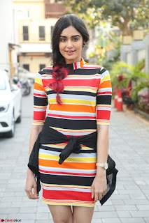 Adha Sharma in a Cute Colorful Jumpsuit Styled By Manasi Aggarwal Promoting movie Commando 2 (22).JPG