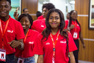 Uba Student ambassadors