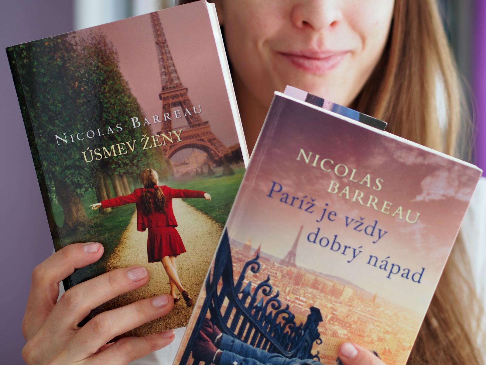 čo čítam: Paríž je vždy dobrý nápad & Úsmev ženy // Nicolas Barreau
