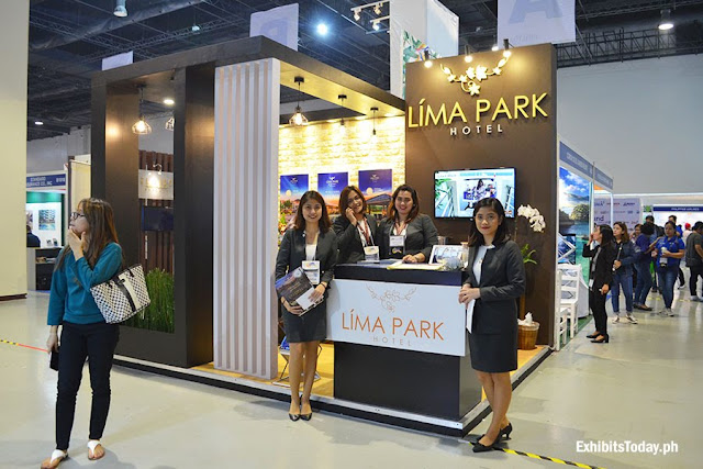 Lima Park Hotel Exhibit Booth