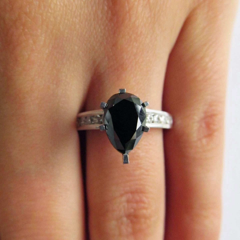 Fascinating Black Diamond Engagement Rings