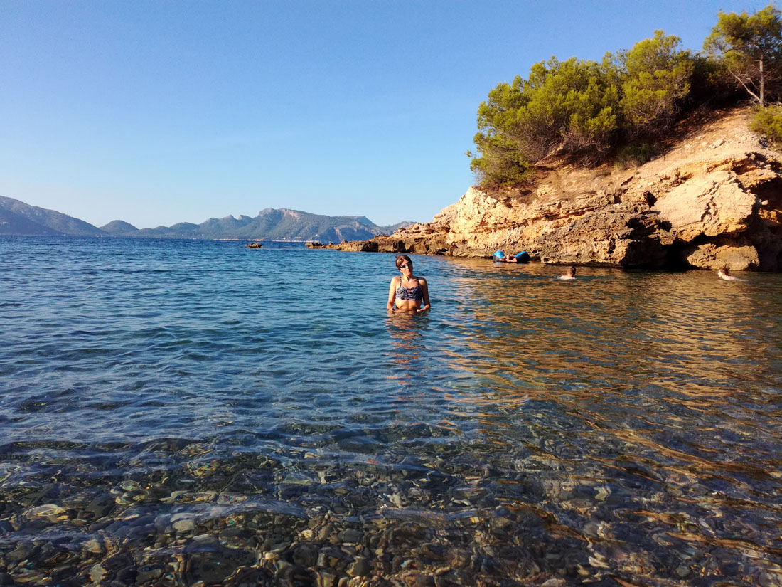 Snorkeling a S'illot