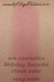 em michelle phan - The Life Palette- Party Life - Birthday Surprise - cheek