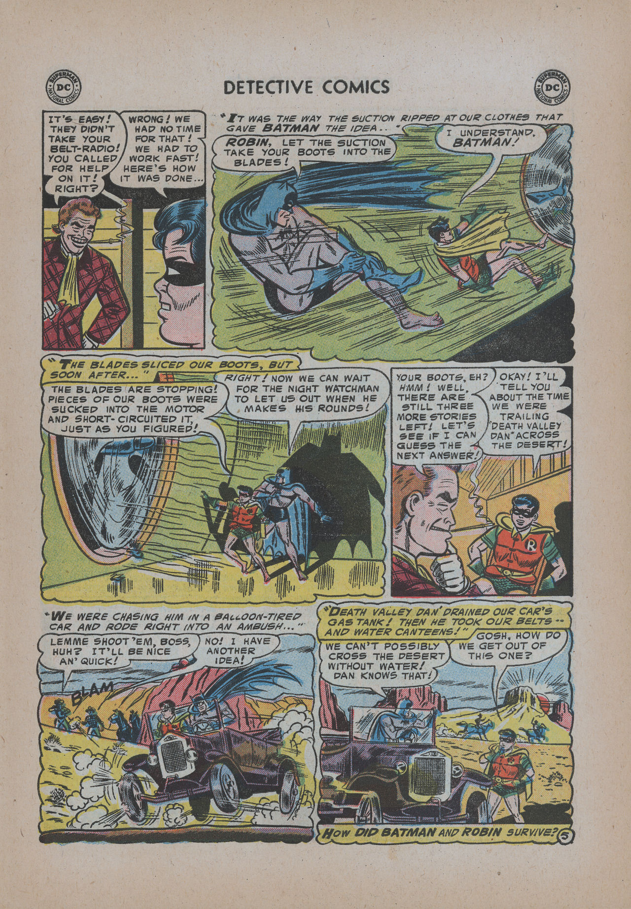 Read online Detective Comics (1937) comic -  Issue #221 - 7