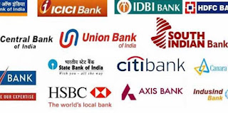List of different banks