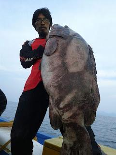 Teknik mancing ikan besar