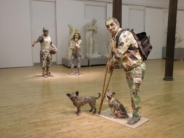Скульптуры из мусора Уилла Курца 29