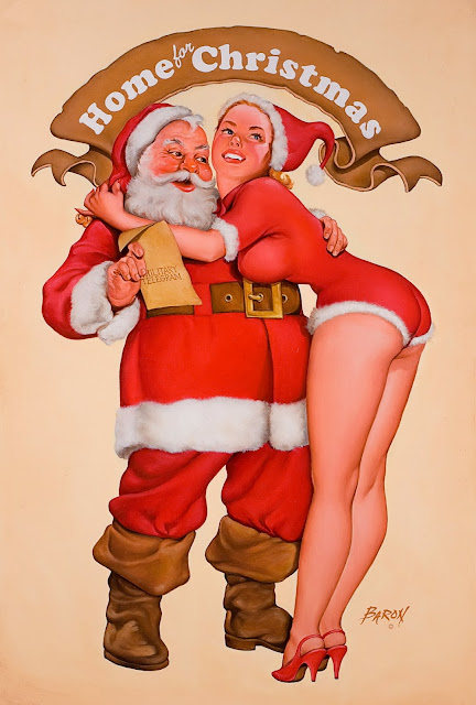 Merry Christmas by Baron Gerald (Jerry) Von Lind