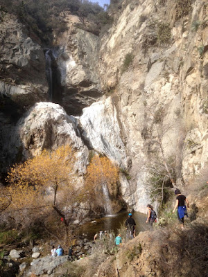 Fish Canyon Falls, Angeles National Forest, January 16, 2016