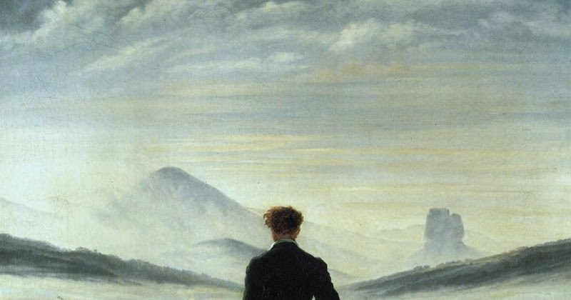 Caspar David Friedrich Quotes: Nickysurf: Caspar David Friedrich By Johannes Grave