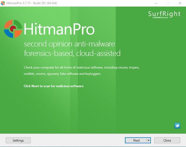HitmanPro 3.7.15