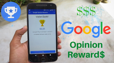 Aplikasi Google Opinion Reward