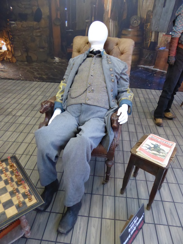Bruce Dern Hateful Eight General Sandy Smithers costume