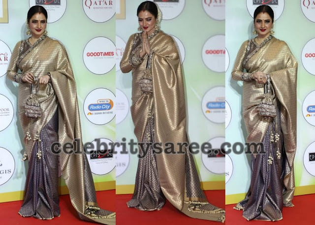 Rekha Half and Half Silk Saree