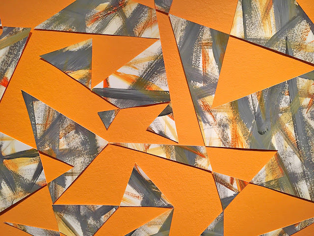 Steven Reichert geometric expressionist painting