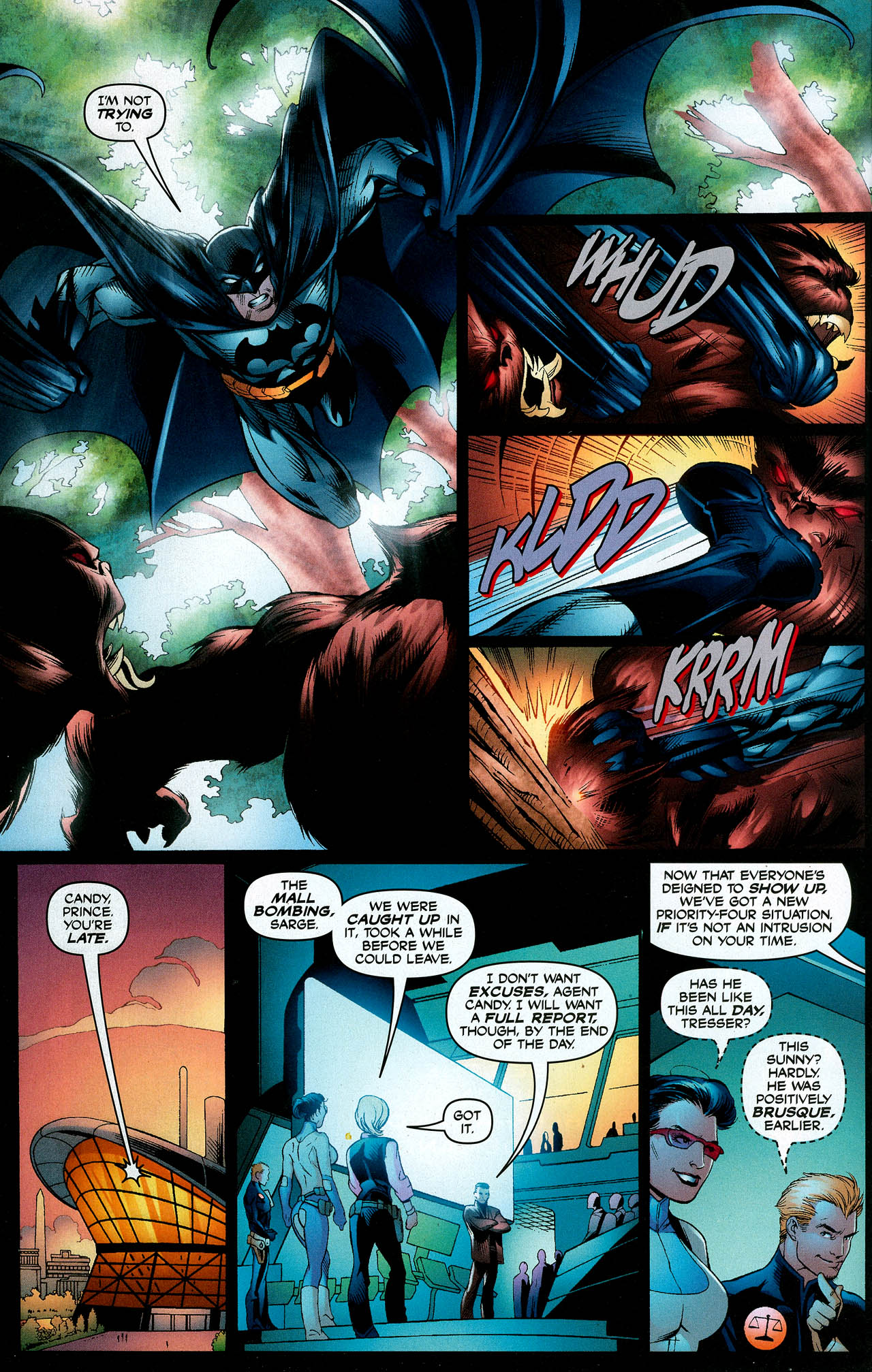 Read online Trinity (2008) comic -  Issue #9 - 8