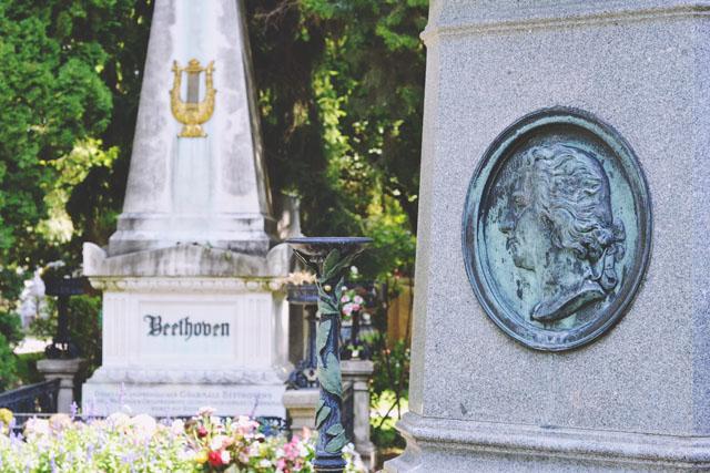 Beethoven Mozart Grave Vienna