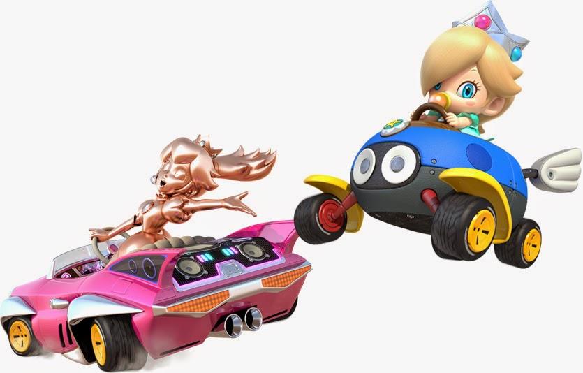 Mario Kart 8 nuevo trailer Baby rosalina Gold Peach nuevos ...