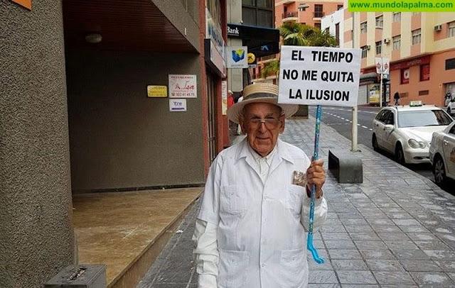 El tiempo da tregua y los Indianos ya cubren de blanco Santa Cruz de La Palma