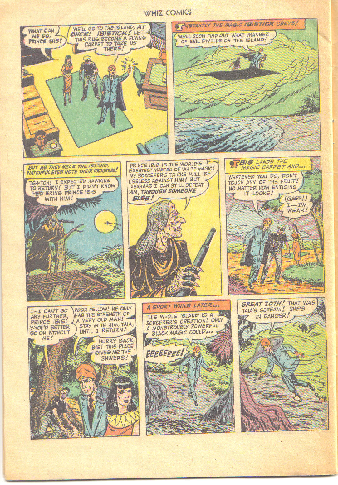 WHIZ Comics issue 147 - Page 32