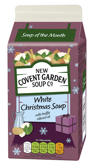Covent Garden Ltd Edition soup White Christmas