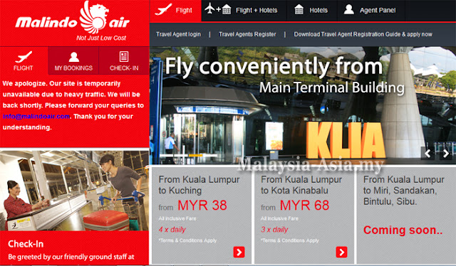 Online Booking Malindo Air