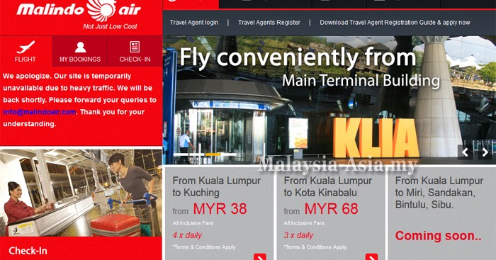 Malindo Air Opens Online Booking - Malaysia Asia Travel Blog