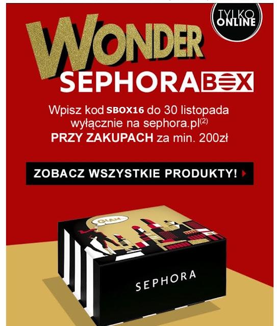 NOWY SEPHORA BOX !!!