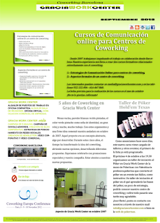 newsletter GWC septiembre 2012 - talleres formativos