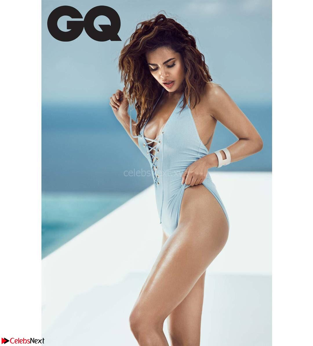 Esha Gupta Sizzles for GQ India Magazine November 2017 ~ CelebsNext Exclusive Galleries