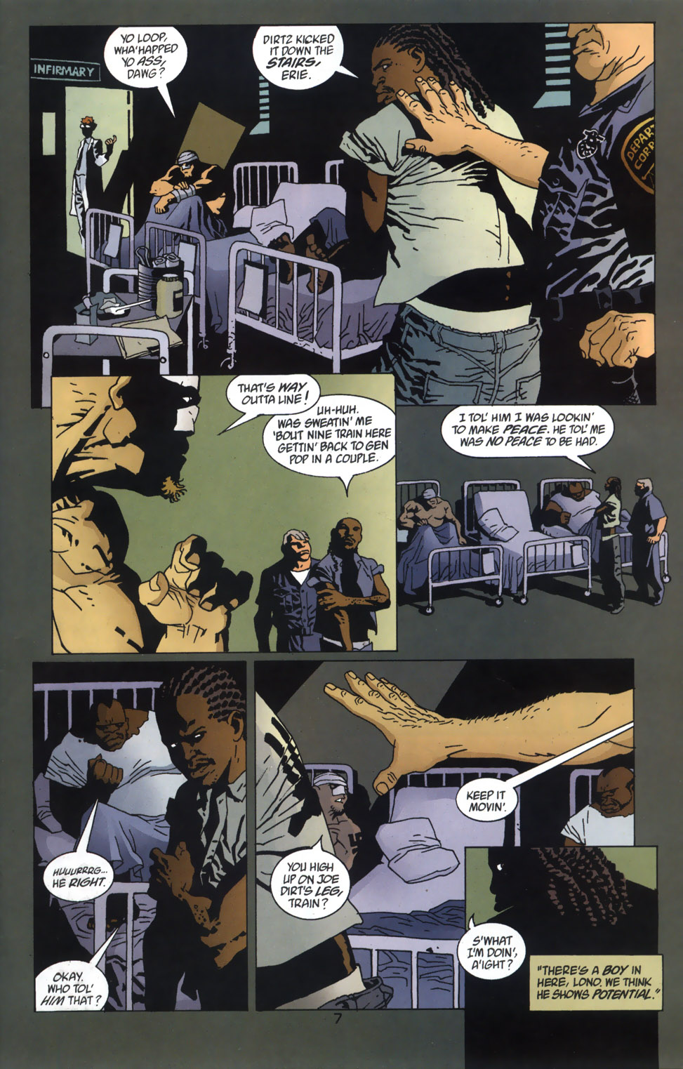 Read online 100 Bullets comic -  Issue #46 - 8